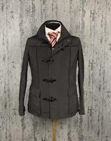 Men`s Emporio Armani Collezioni Gray Waterproof Coat Jacket Size 40