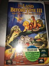 The Land Before Time III: The Time of Great Giving (VHS, 1995, Clamshell) NEW