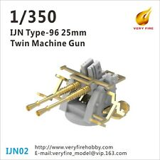 Very Fire 1/350 IJN 25mm gun(twin mount)(12 sets) IJN02