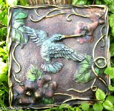 Hummingbird stepping stone mold garden casting mould reusable