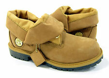 Timberland Shoes Roll Top Ripstop/Leather Wheat/Brown Boots Men 4.5 Womens 6.5