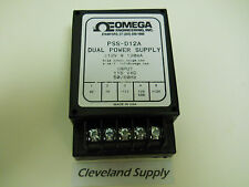 OMEGA ENGINEERING PSS-D12A DUAL POWER SUPPLY 115 / 12V NEW CONDITION NO BOX