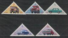 RUSSIA,USSR:1971 SC#3848-52 MNH Soviet Cars S144