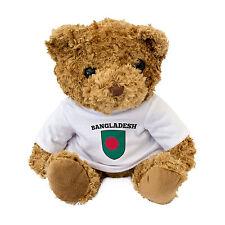 NEW - Bangladesh Flag Teddy Bear - Cute And Cuddly - Fan Gift Present Birthday