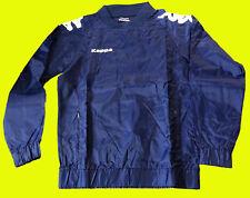 """KAPPA """"Fondi"""" Herren Windbreaker Regen Sweatshirt Pullover blau Gr. S"""