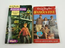 Lot 2 Enid Blyton Books Mystery Chapter Adventure- Boy Next Door, Famous Five