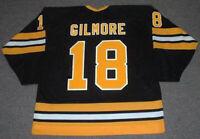 Movie 1996 Happy Gilmore #18 Ice Hockey Jersey Custom Any Names Hockey Shirts