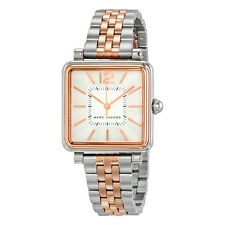 Marc by Marc Jacobs Vic Silver Dial Ladies Two Tone Watch MJ3463