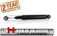 2 REAR SHOCK ABSORBERS FOR PEUGEOT 207 (06->)/CITROEN C3 PICASSO/GH-333763K/