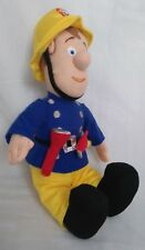 Bbc Cbeebies Fireman Sam Plush Soft Toy Male Tv Film Character Figure Doll 40 cm