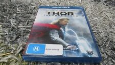 Marvel -Thor - The Dark World ( 3D Blu-ray, 2014) Chris Hemsworth