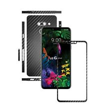 Carbon Skin,Full Body Wrap,Case Vinyl Decal for LG G8 ThinQ