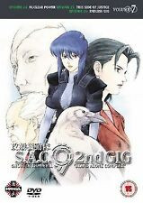 Ghost In The Shell Stand Alone Complex 2nd Gig Vol 7 DVD UK Rele New Sealed R2