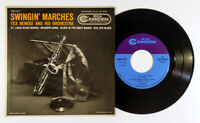 Tex Beneke And His Orchestra ‎– Swingin' Marches 45 RPM EP 1956 RCA Camden 7""