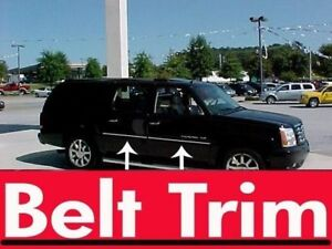 Cadillac ESCALADE /ESV CHROME SIDE BELT TRIM DOOR MOLDING 99-00 2001-2007**