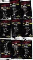 A NIGHTMARE ON ELM STREET 9 UNOPENED SEALED PACKS OF STICKERS 1984 VINTAGE