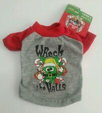 Bret Michaels Holiday Wreck the Halls Dog Dress Pet Clothes Dog Tee T-Shirt XS