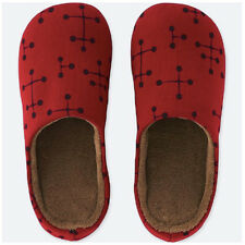 Eames x Uniqlo Red Dot Room Shoes / Slippers Unisex Size XL Men's 12, Women's 13