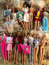 vintage 1966 barbie dolls lot of 14 China bend twist at waist Great  Condition