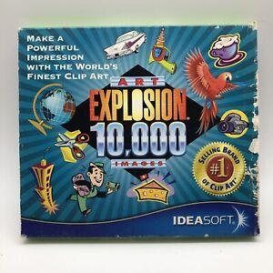 Nova Development Art Explosion 10,000 Art Images Windows clip art 2001