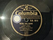 Steve Conway - At The End Of The Day/ Bless This House Columbia DB2913 Schellack