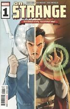 Doctor Strange 1 (2019) MARVEL COMICS Surgeon Supreme Main Cover