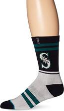 Stance MLB Pique Crew Socks Seattle Mariners Men's Medium 6-8.5 NWT Navy Green