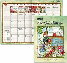 BOUNTIFUL BLESSINGS - 2021 POCKET PLANNER CALENDAR - BRAND NEW - LANG ART 03158