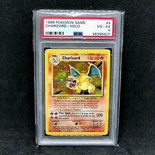 PSA 4 CHARIZARD 4/102 Base Set Pokemon holo #4