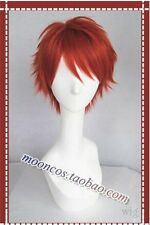 UTA NO PRINCE Ittoki Otoya party Red Short cosplay wig fasion costome coser hair