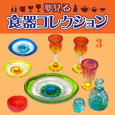 Rare! Re-ment Miniature Dream Tableware Collection No.3 Ryukyu Glass