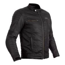 RST 102975 Brixton CE Wax Textile Motorcycle Motorbike Jacket - Black