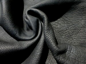 Buffalo leather skin 1/3 of a hide grainy texture Thick & Soft 9sf, 9-10oz.
