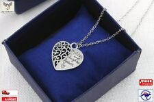 Mother Daughter Forever Heart Love Pendant Necklace Gifts Mothers Day [A9K~B30]