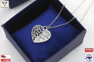 Mother Daughter Forever Heart Love Pendant Necklace Gifts Mothers Day [A9K1~B30]