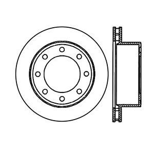 Rr Premium Brake Rotor Centric Parts 120.65071