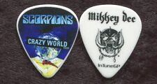 SCORPIONS 2017 World Tour Guitar Pick!!! MIKKEY DEE custom concert stage Pick