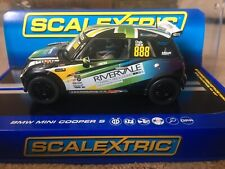 Scalextric BMW Mini Cooper S C3606 Rare New Boxed DPR Lights Deleted Model