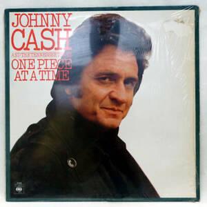 JOHNNY CASH One Piece At A Time Vinyl LP CBS 81416 UK 1986 EX-/VG+