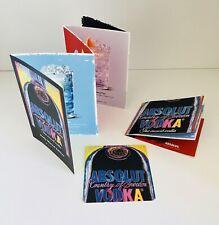 Colección resolución!!! absolut vodka warhol 2 x cuadernillo + 1 x Coaster ** nuevo **