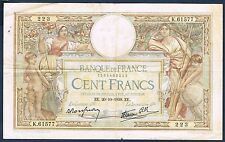 FRANCE - 100 FRANCS L.O MERSON Fay n° 25.32 du 20=10=1938.ZE en TTB K.61577 223