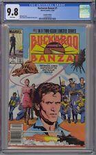 Buckaroo Banzai #1 CGC 9.8 NM/MT Wp 1984 Rare $1.00 Canadian Price Variant