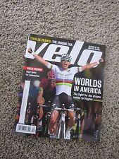 Velo Magazine September 2015 Worlds In America Tejay Vuelta Tour De France