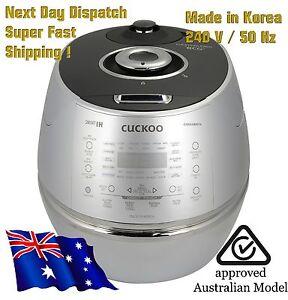 NEW Cuckoo IH 6 Cup Pressure Cooker CRP-DHSR0609F / 240V