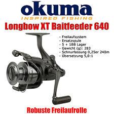 Okuma Longbow XT Baitfeeder 640 - Freilaufrolle Angelrolle Feederrolle Karpfen