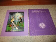 Disney Store Sleeping Beauty Exclusive Commemorative Lithograph Excellent!!