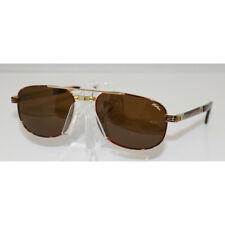 Brand New Authentic HILTON LONDON 926 06 Havana 24kt gold plated Sunglasses