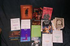 More details for bundle job lot of scottish opera programmes
