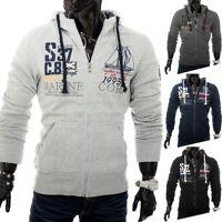 Felpa con cappuccio e cerniera sweatshirt giacca Norway Core