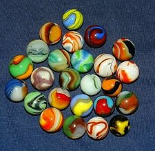 LOT OF 25 MACHINE MADE MARBLES GRP 1